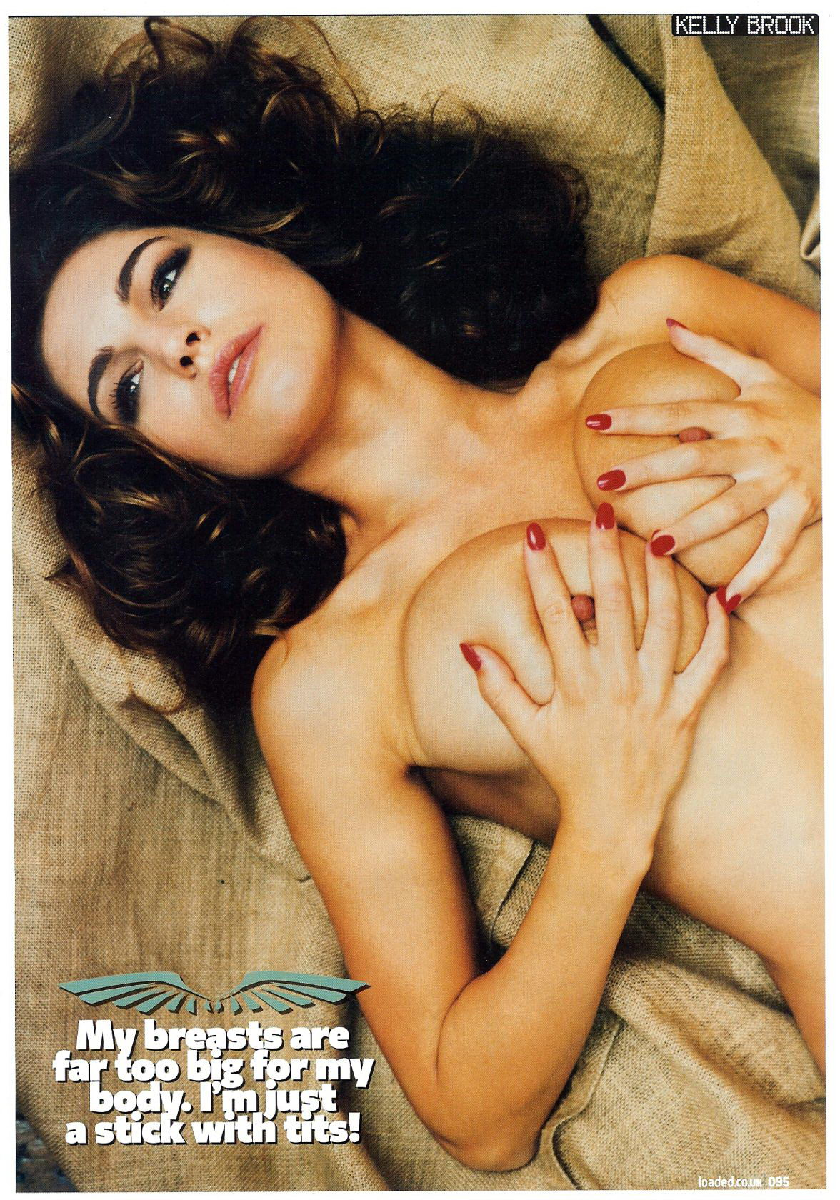 Kelly brook nude playboy — pic 10