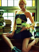 Miranda Kerr topless wearing schoolgirl outfit in Numero June photoshoot from Kendra Exposed