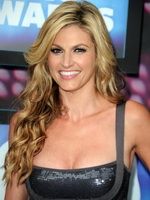Erin Andrews busty wearing low-cut dress at 2010 CMT Awards from Kendra Exposed