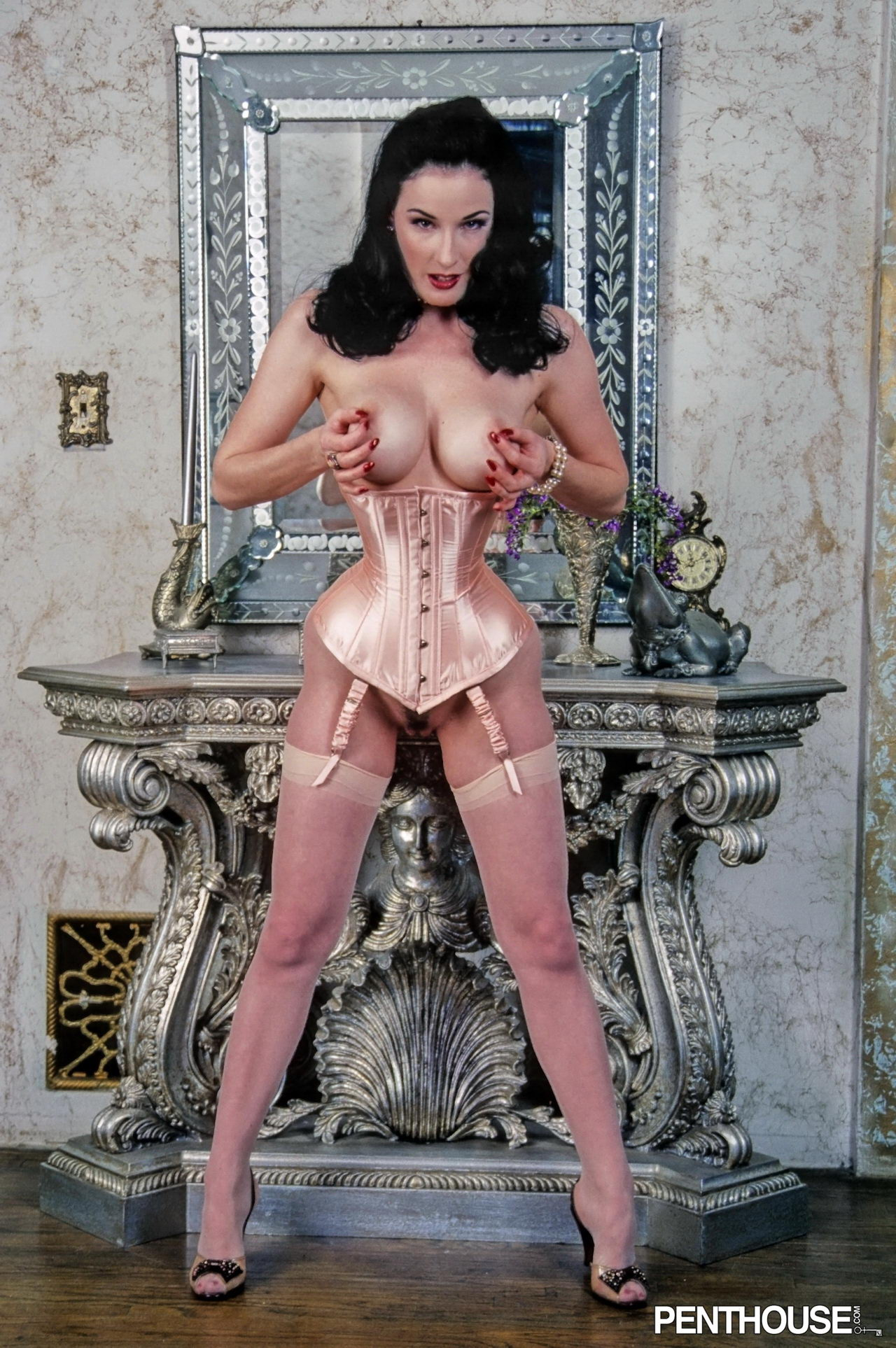 Similar situation. Dita von teese nude pussy are