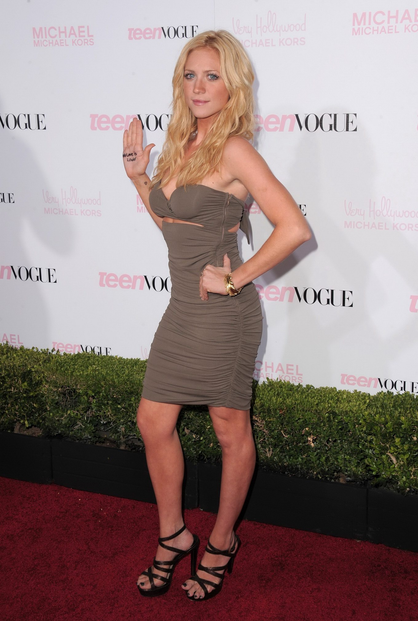 Brittany Snow looking very sexy at Teen Vogue Young Hollywood party in ...