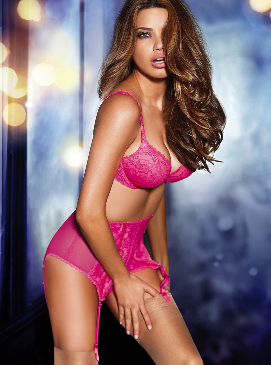 Would Adriana lima hot celebrity for lovely