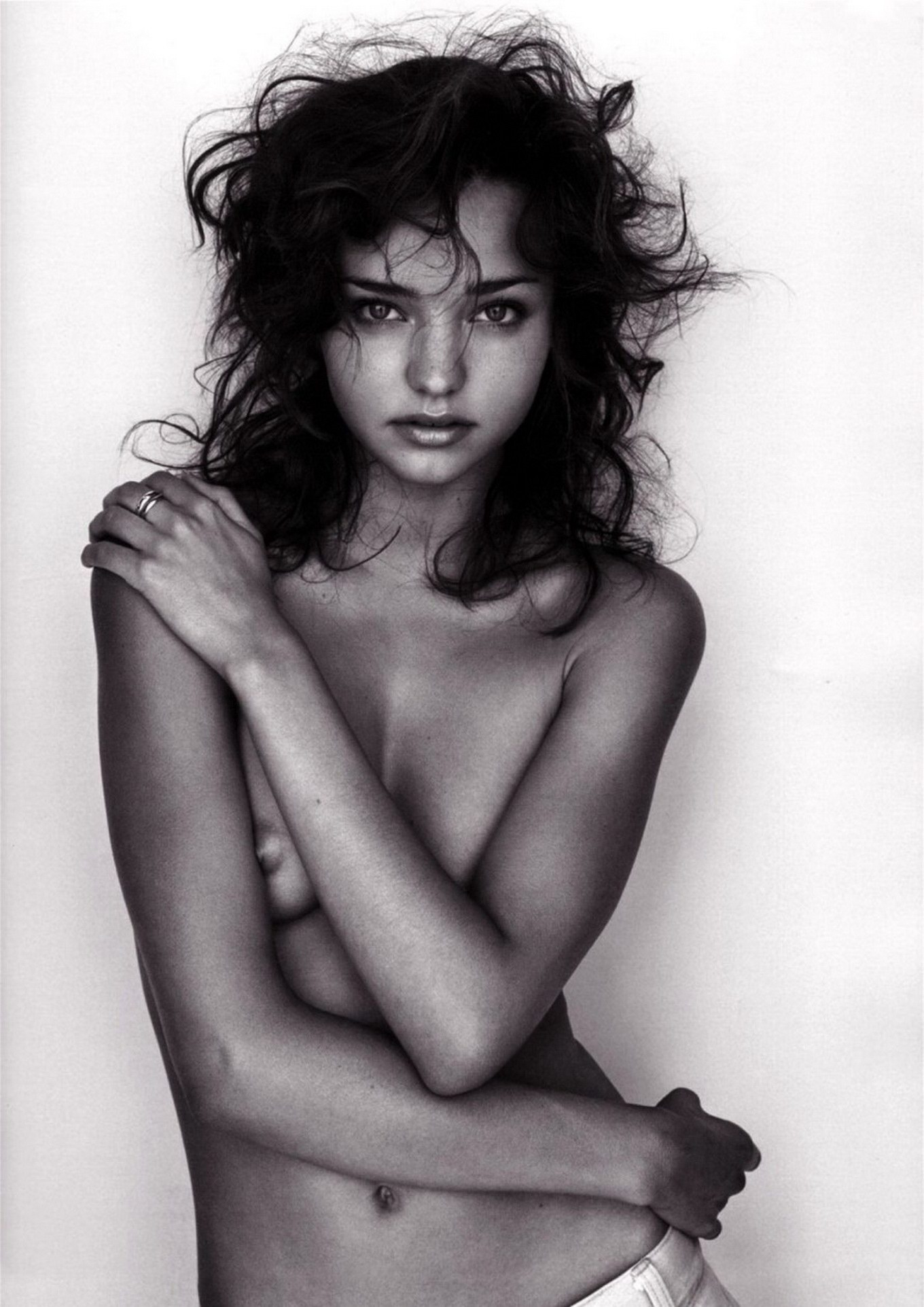 miranda kerr fully nude in v2 photoshoot by james russell