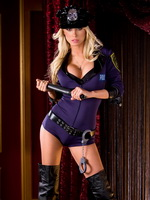 Sara Jean Underwood in very hot lingerie   uniforms photoshoot from CelebMatrix