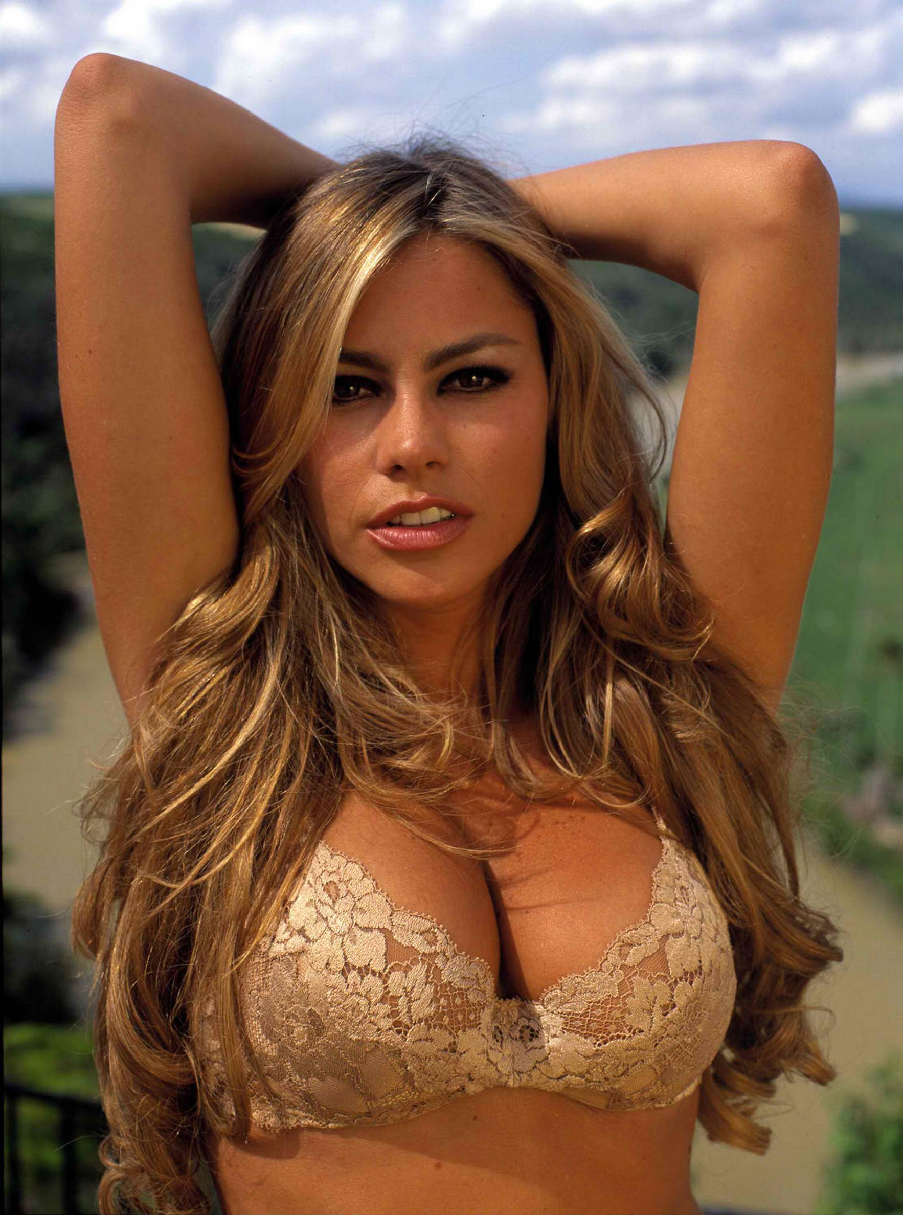 sofia vergara in lingerie