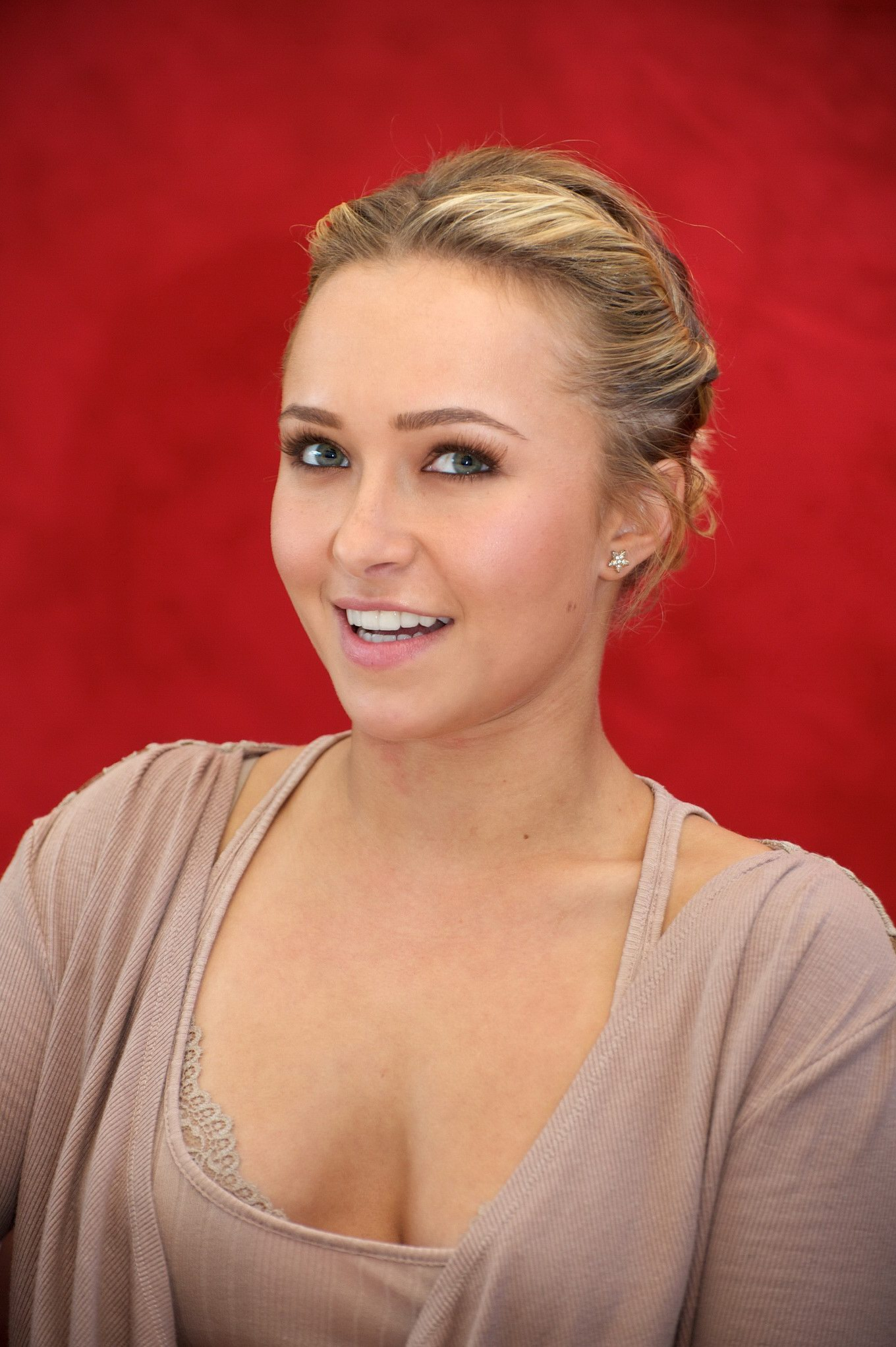 Agree, hayden panettiere cleavage thank for