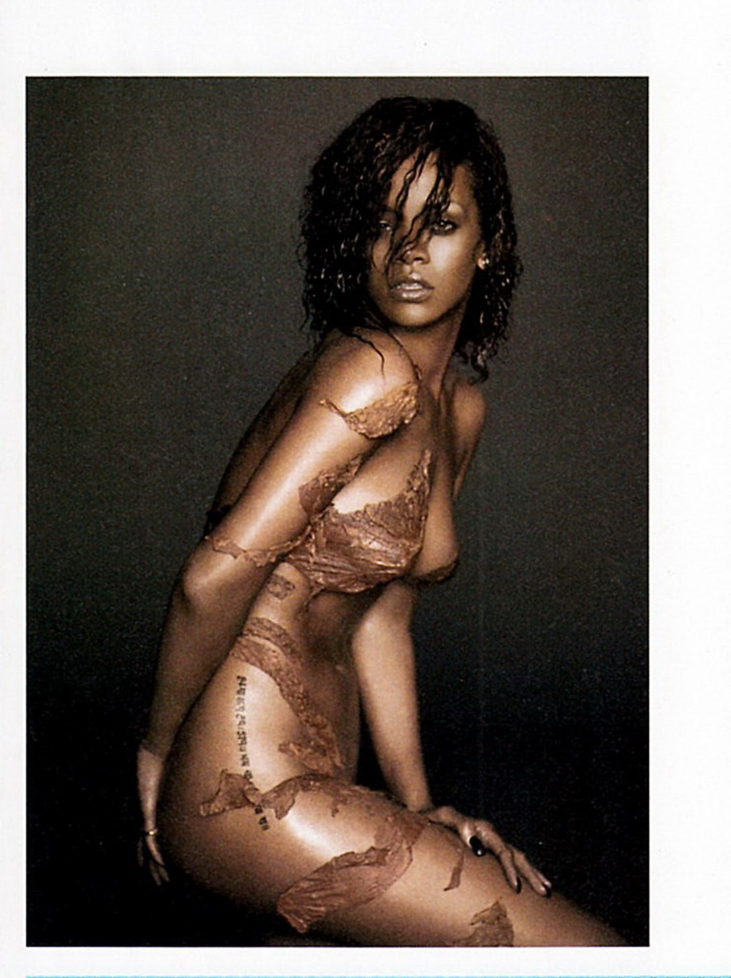 Sorry, Rihanna gets naked opinion
