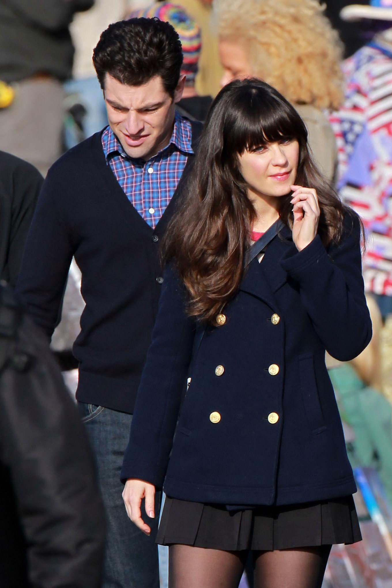 That can zoey deschanel upskirt there
