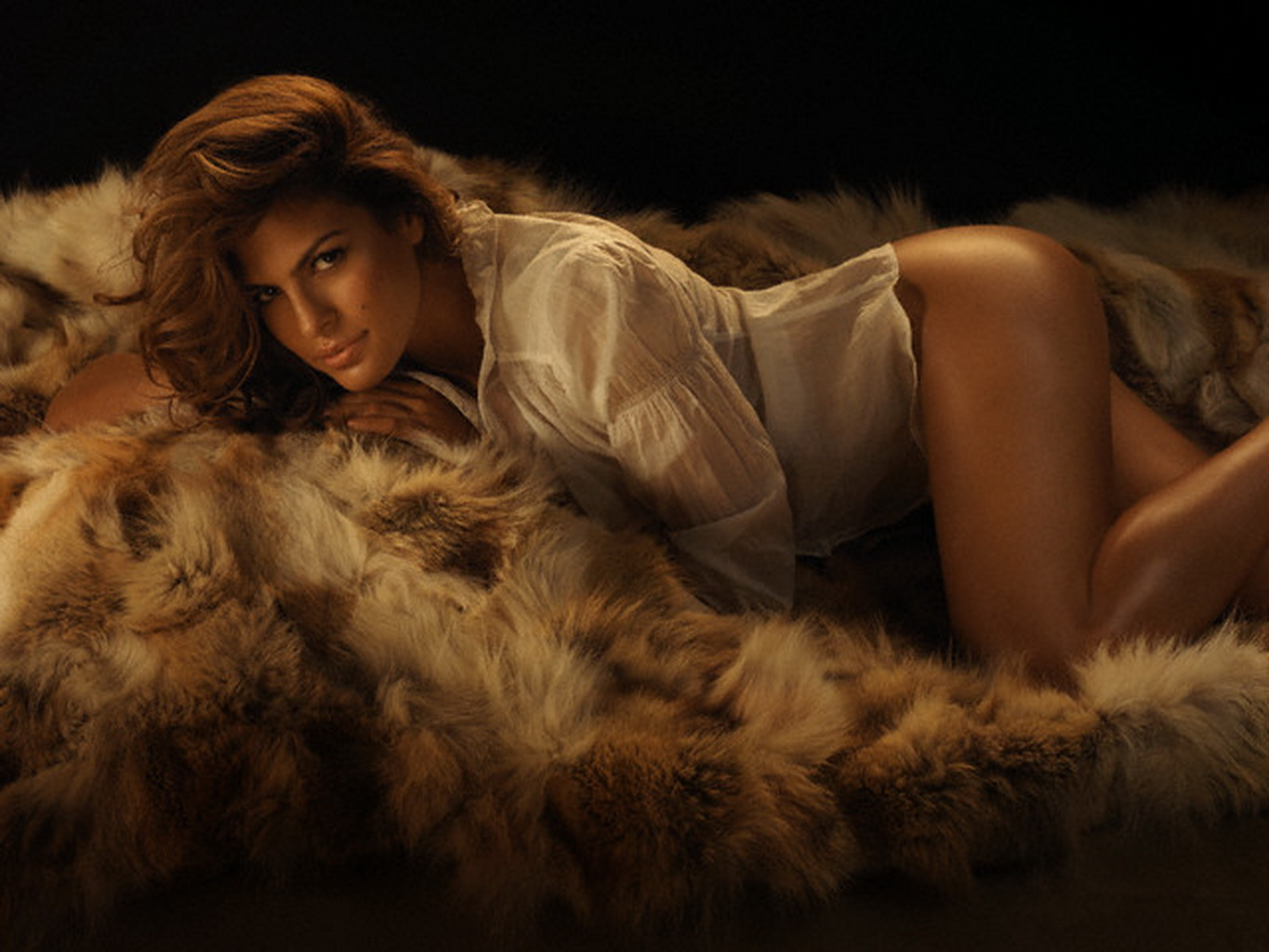 eva mendes fully naked
