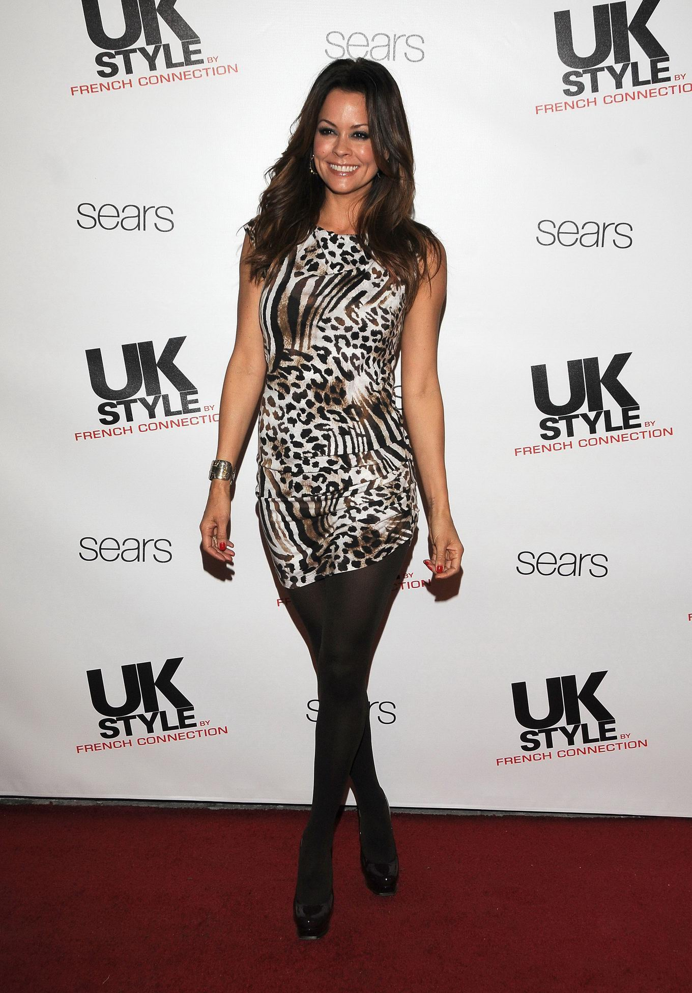 brooke burke in nylons