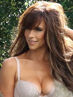Jennifer Love Hewitt busty in Maxim Magazine April 2012 issue photoshoot  HD caps from CelebMatrix