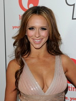 Jennifer Love Hewitt showing huge cleavage at 'The Client List' new session photocall from CelebMatrix