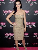 Katy Perry showing cleavage at 'Katy Perry: Part of Me' premiere in Sydney from CelebMatrix