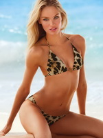 Candice Swanepoel in very hot Victoria's Secret 2013 bikini collection from CelebMatrix