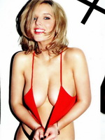 Busty Helen Flanagan hiding her boobs in hot FHM Magazine photoshoot for February 2013 issue from CelebMatrix
