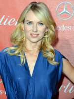 Naomi Watts wearing see through overall pants  pasties at 24th annual Palm Springs International Film Festival  from CelebMatrix