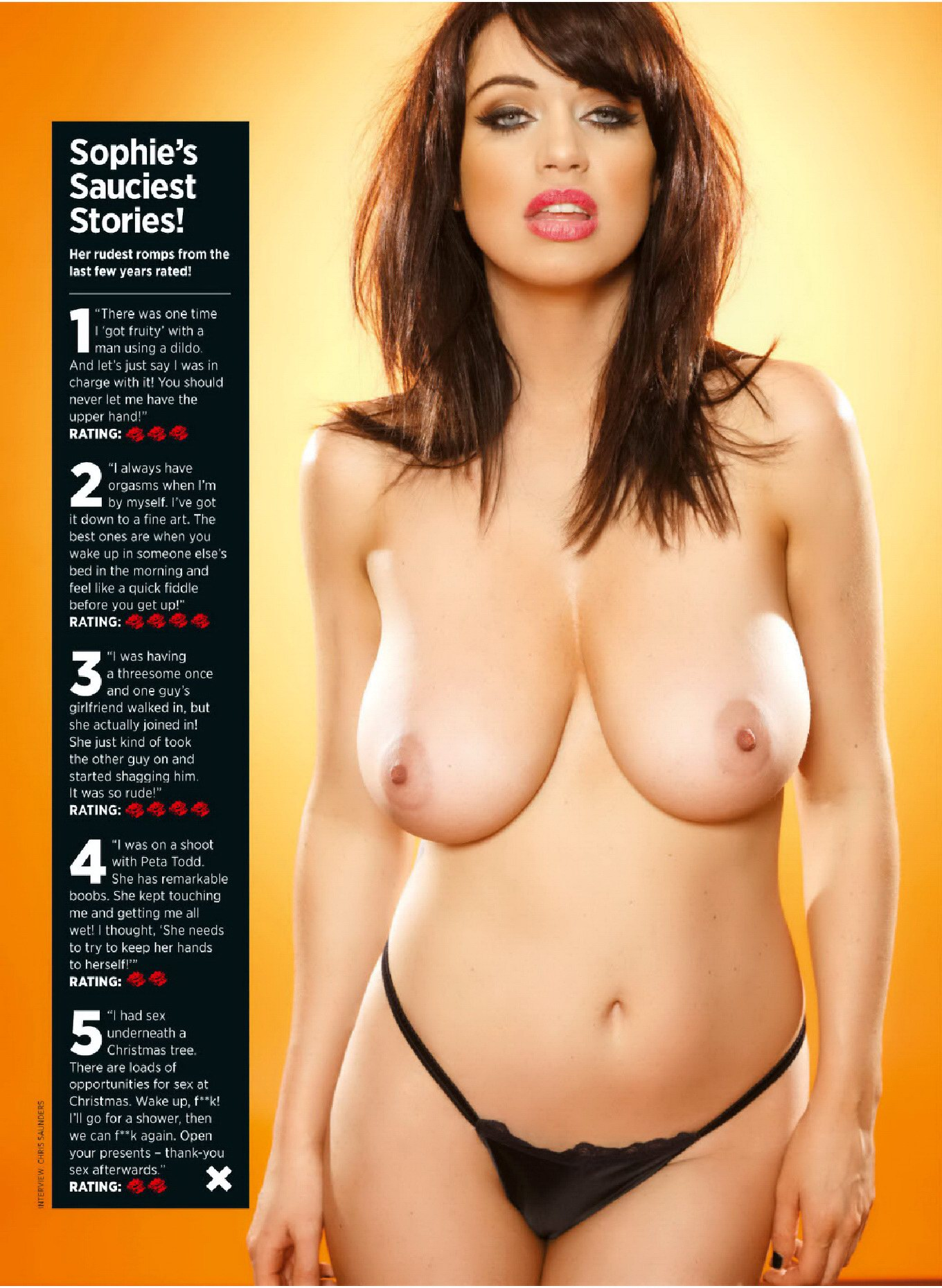 Are Sophie howard boobs remarkable