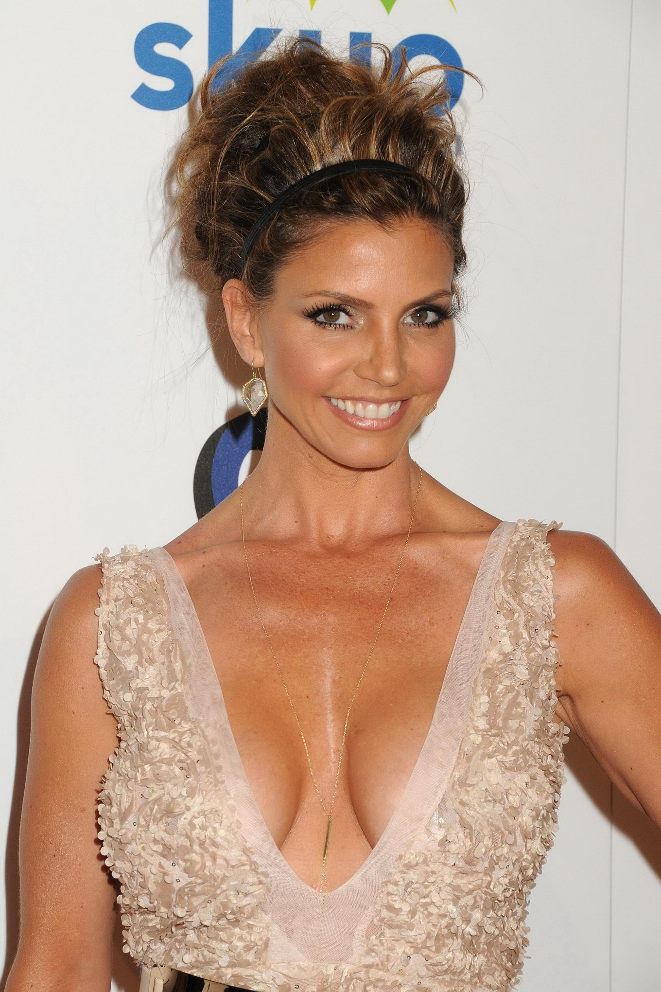 Something Charisma carpenter cleavage but not