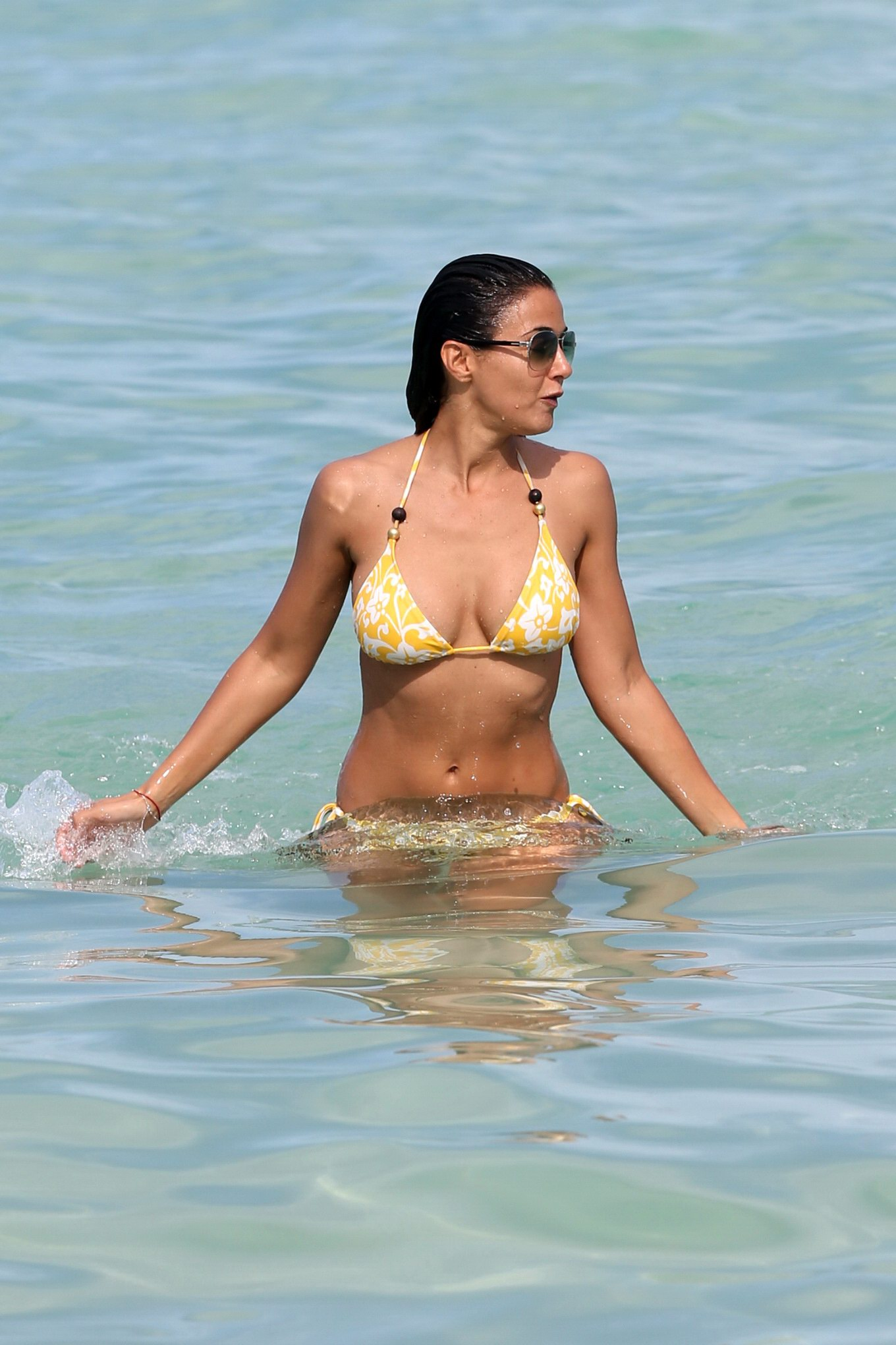 Emmanuelle chriqui bikini candids at miami beach