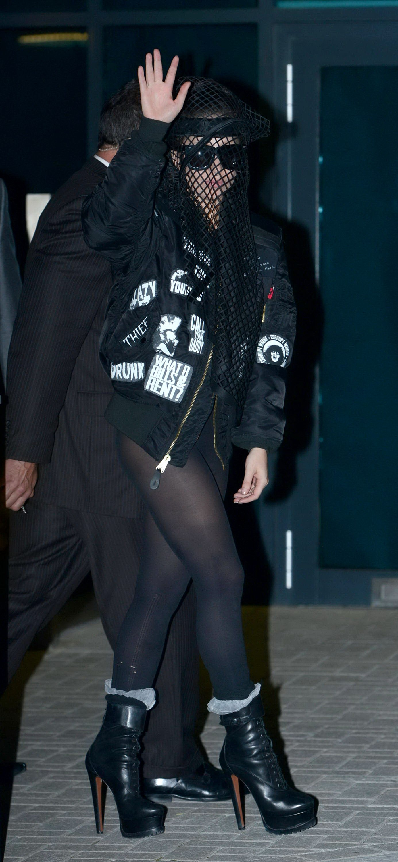 Excellent pictures of lady gaga wearing pantyhose removed