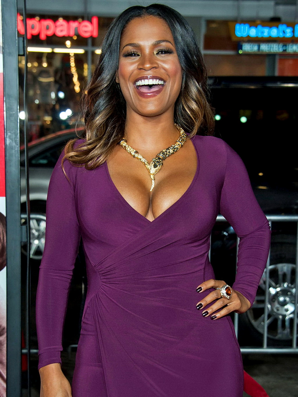 You migraine nia long cleavage brilliant