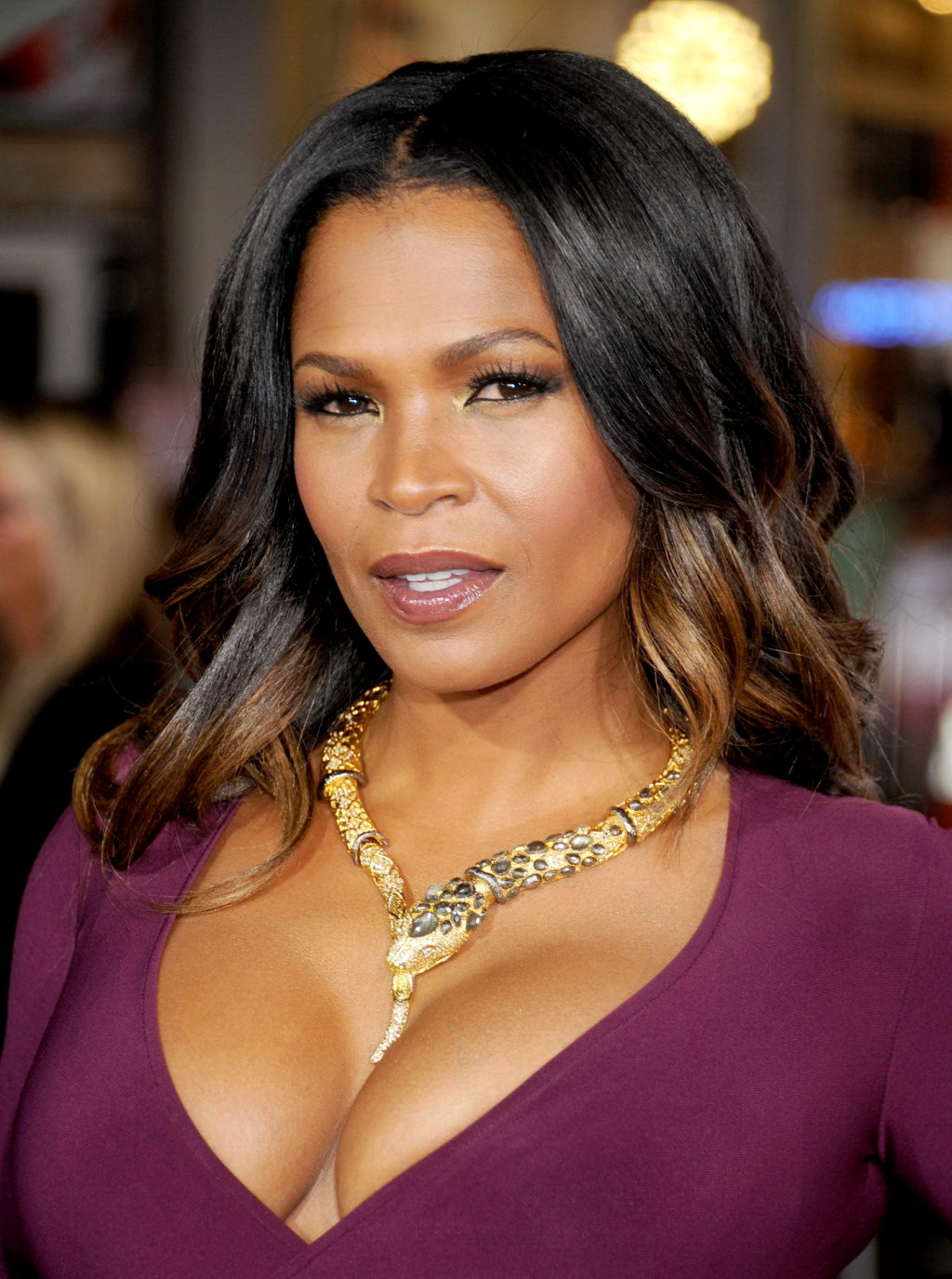 Remarkable, nia long cleavage