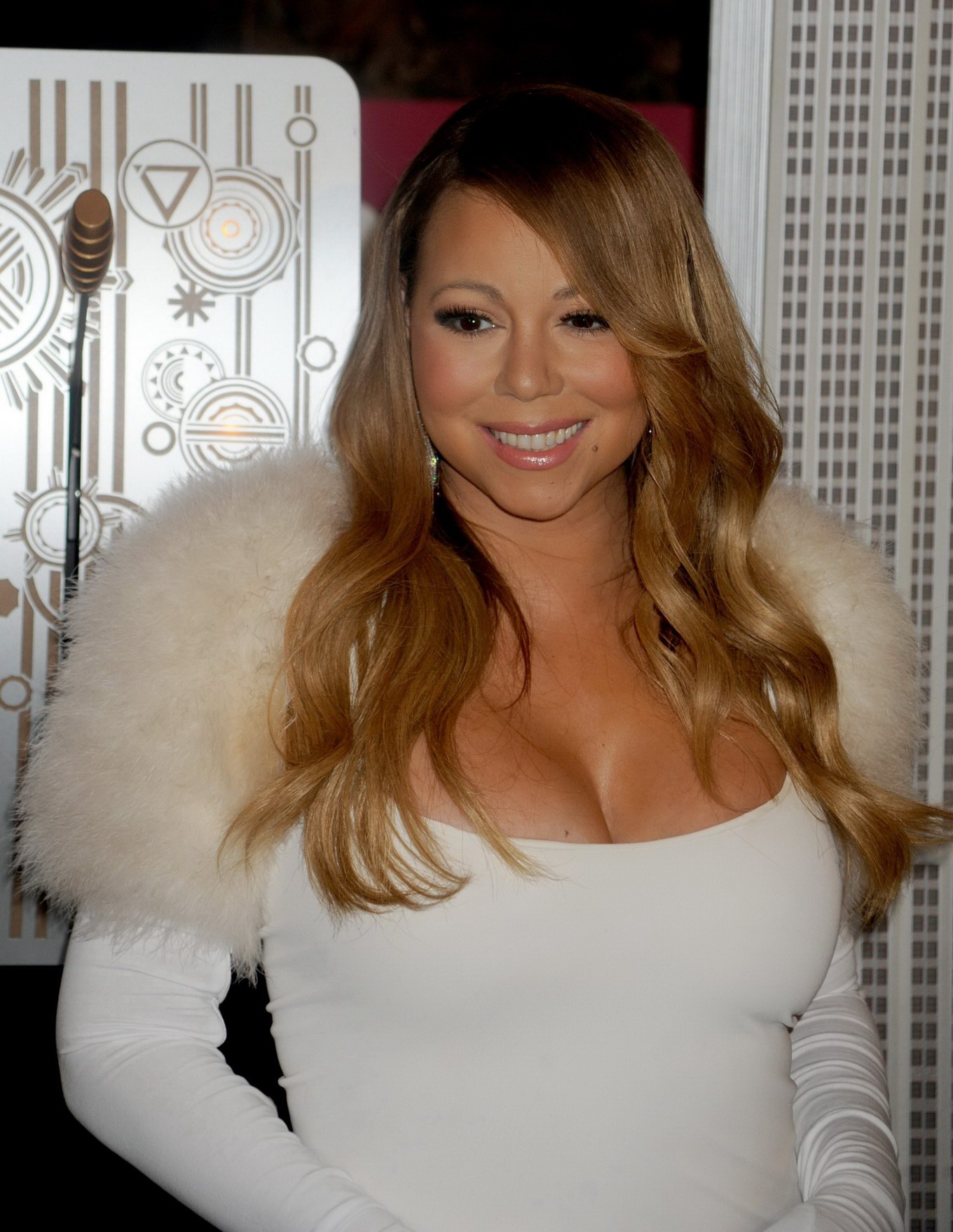 Think, that Mariah carey big cleavage remarkable