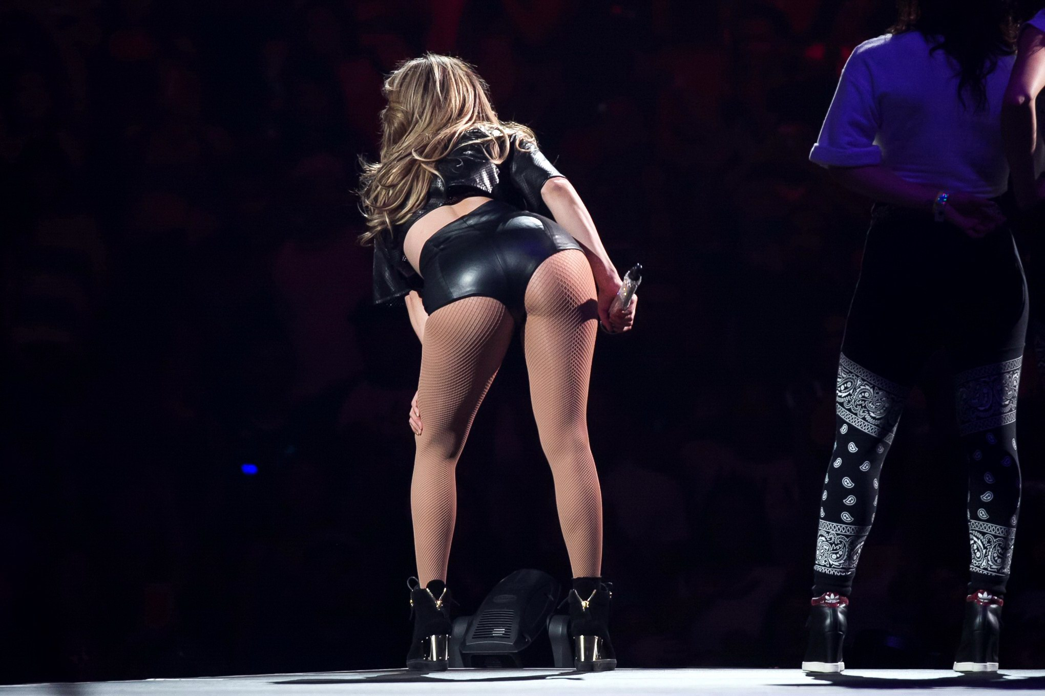 Big jennifer lopez butt ass
