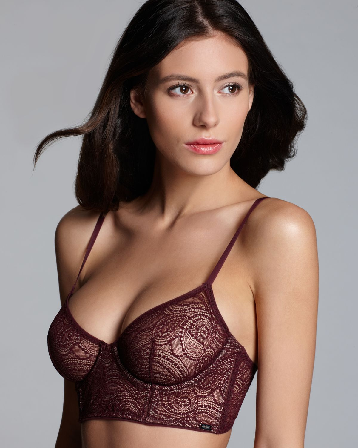 alejandra guilmant in sexy bloomingdales lingerie collection