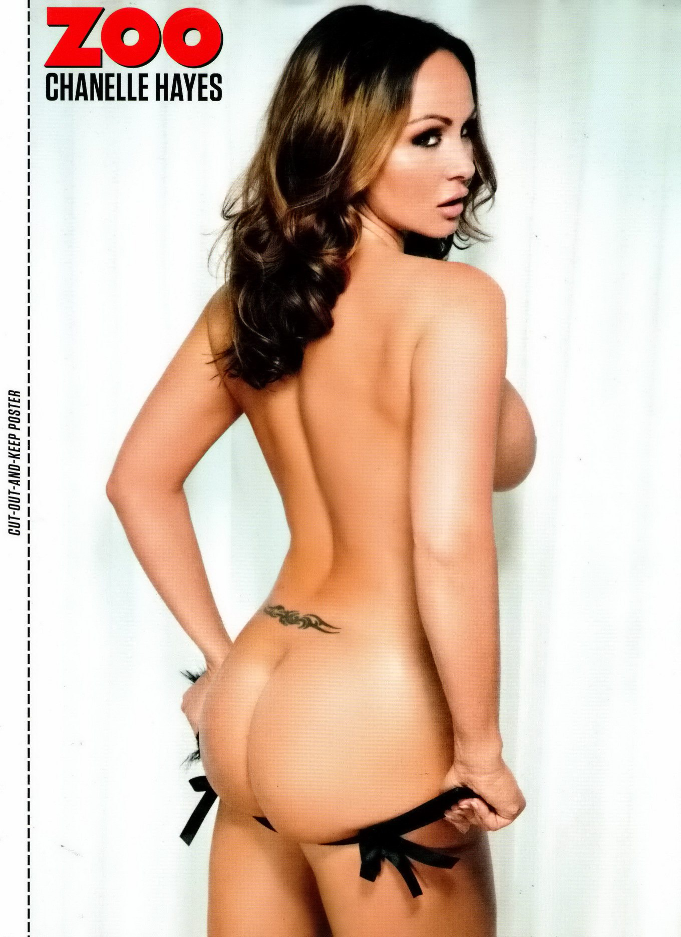 chanelle hayes nude ass