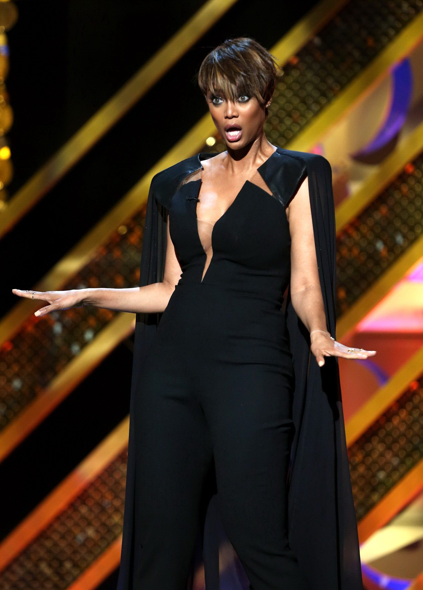 This awesome busty tyra banks very