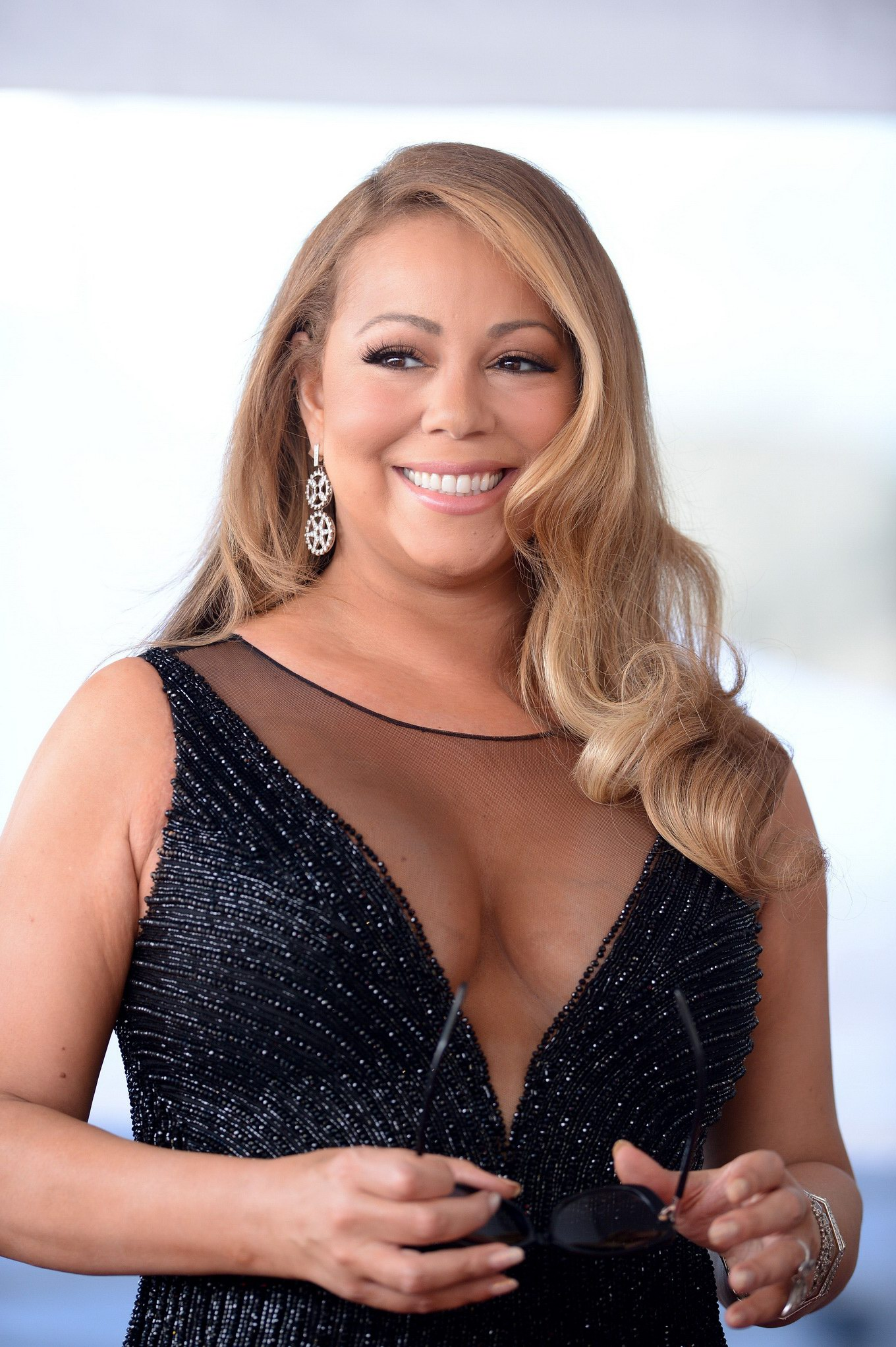 Mariah carey big cleavage sorry, that