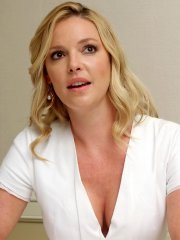 Katherine Heigl showing huge cleavage at the 'State Of Affairs' press conference in LA