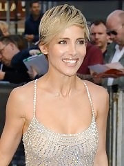 Elsa Pataky showing off her big boobs in c-thru dress at the Fast And Furious 6 premiere in London