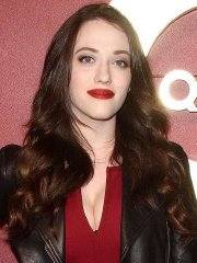 Kat Dennings showing huge cleavage at the QVC 5th Annual Red Carpet Style Event in Beverly Hills