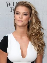 Nina Agdal leggy and cleavy wearing a tight mini dress at Spike TV's Guys Choice Awards in Culver City