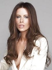 Kate Beckinsale braless showing side boob in very hot photoshoot
