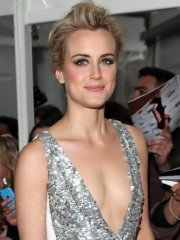 Taylor Schilling cleavy at Glamour Women of the Year Awards in London