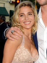 Elsa Pataky showing huge cleavage at the 'Vacation' premiere in Westwood, CA