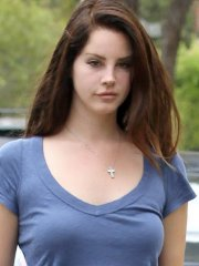 Lana Del Rey flashing her black panties under a tiny denim shorts out in LA