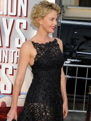 Charlize Theron see through to corset at 'A Million Ways to Die in the West' premiere in Westwood