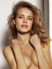 Natalia Vodianova posing in very sexy Etam Lingerie Spring-Summer 2014 collection