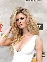 Marisa Miller showing enormous cleavage at Spike TV's 4th Annual Guys Choice Awards