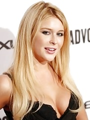 Renee Olstead busty showing cleavage at the Advocate magazine 45th anniversary