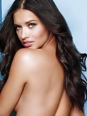 Adriana Lima posing in new Victoria's Secret lingerie collection