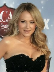 Jewel Kilcher busty in black tube mini dress at American Country Music Awards in Las Vegas