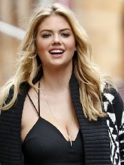 Kate Upton showing huge cleavage at the photoshoot in NYC