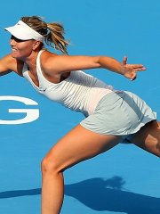 Maria Sharapova flashing her panties at the 2nd round of 2014 China Open in Beijing