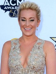 Kellie Pickler showing huge cleavage at the 50th Academy Of Country Music Awards in Arlington