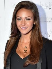 Michelle Keegan showing huge cleavage for the  Lipsy range launch at the Rosewood Hotel in London